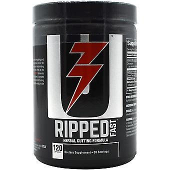 Universal Nutrition Ripped Fast Dietary Supplement - 120 Capsules