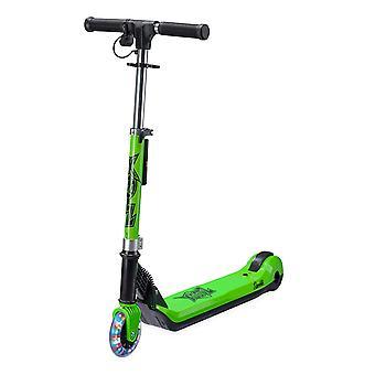 Xootz lapset elementtejä sähkö taitettava skootteri merkkivalo - vihreä