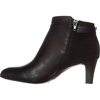 Alfani Valmontt Leder mandelförmige Spitze Knöchel Damenmode Stiefel