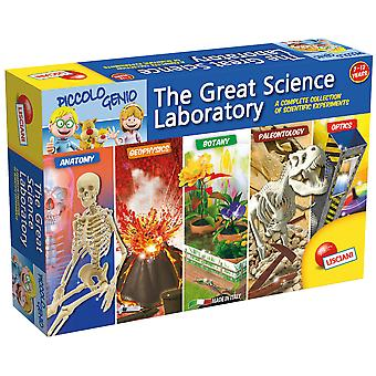 Lisciani The Great Science Laboratory Kit