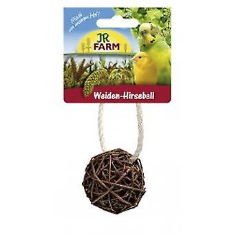 Jr Farm JR Birds Wicker Millet Ball (Birds , Bird Food)