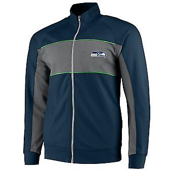 Seattle Seahawks Cut & Sew Track Jacket navy