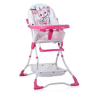 Lorelli children's high chair candy cup recess, foldable, double table, basket