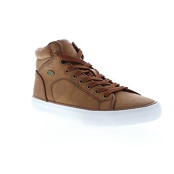 Lugz King LX  Mens Brown High Top Lace Up Lifestyle Sneakers Shoes