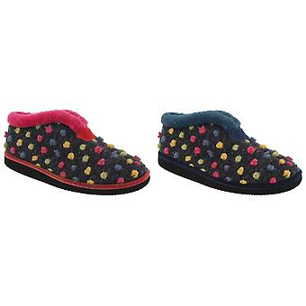 Sleepers Womens/Ladies Tilly Lightweight Thermal Lined Bootee Slippers
