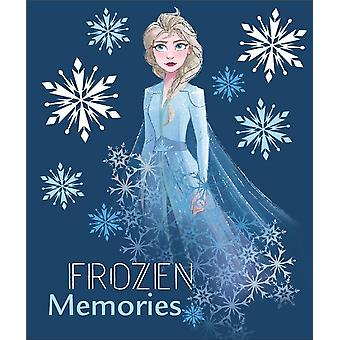 Disney frozen blanket polar fleece 'memories'
