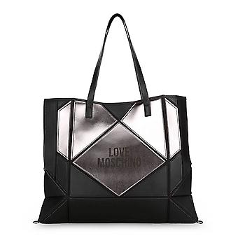 Love Moschino Original Women Fall/Winter Shopping Bag - Black Color 40532
