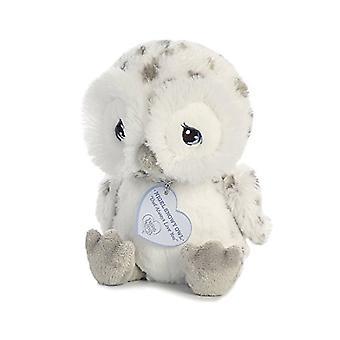 Nigel sneeuw uil 8 inch - Baby dier gevuld door kostbare momenten (15712)