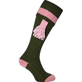 JACK PYKE Ladies Shooting Socks Pink