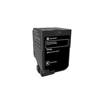 Lexmark Cx725 Black High Yield Return Program Toner Cartridge 25K