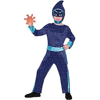PJ Masks Night Ninja Kostüm für Kinder Pyjamahelden Ninjakostüm