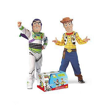 Coffret déguisements Buzz et Woody Toy Story enfant