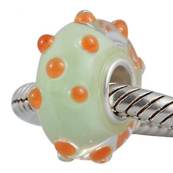 Sterling Silver Murano Glass Charm - 4425