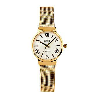 Eton Ladies Small size Fashion Watch, Mesh Bracelet, Gold Finish - 3240L-GD