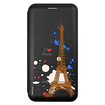 Fall für Samsung Galaxy A8 (2018) Paris Grund