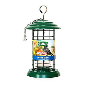 Supa Easy Fill Plastic Fortress Bird Seed Feeder