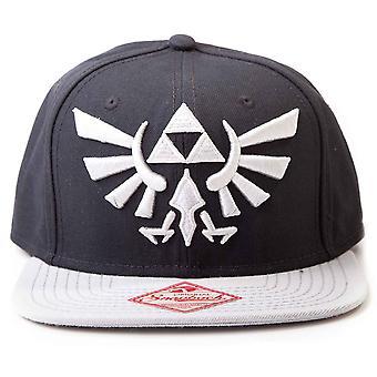 Nintendo Zelda Triforce Logo new Official black snapback Baseball Cap