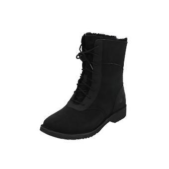 UGG W DANEY Women's Boots Black Lace-Up Boots Winter