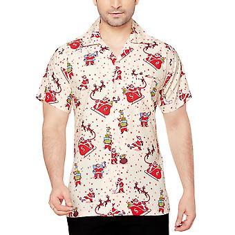 Club cubana men's regular fit classic short sleeve casual shirt ccx38