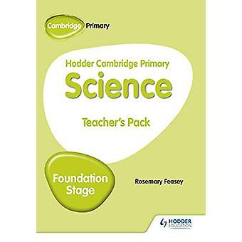 Hodder Cambridge Primary Science Teacher's Pack Foundation Stage av R