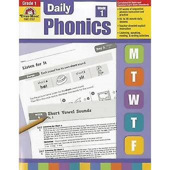 Daily Phonics Grade 1 by Evan-Moor Educational Publishers - 978160963