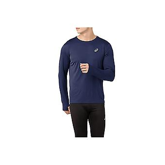 Asics Silver Longsleeve Top 2011A010405 in esecuzione tutto l'anno t-shirt uomo