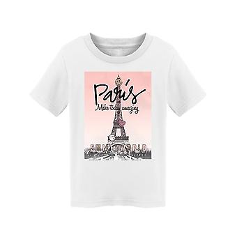 SmileyWorld Paris Make Today Amazing Toddler's T-shirt