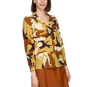 Dixie Women's Multicolor Camouflage Shirt