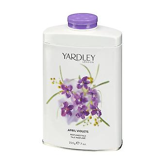 Yardley London Perfumed Talc 200g - April Violets