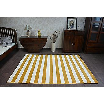 Rug SKETCH - F758 gold/cream - Strips