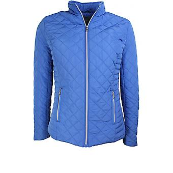 b.young Bright Blue Quilted Jacket