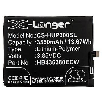 X-Longer Replacement Battery Battery for Huawei P30 Replaces HB436380ECW Battery Accu