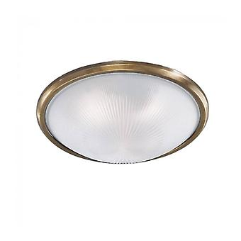 Bronze Ceiling Lamp 3 Bulbs Diameter 40 Cm