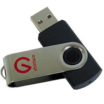 Shintaro 64GB Roterende Pocket Disk USB2.0