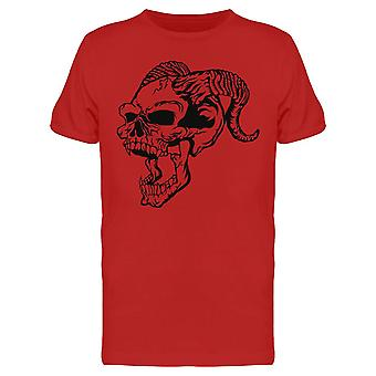 Horned Skull Tee Men's -Image by Shutterstock
