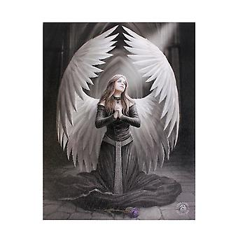 Anne Stokes Prayer For The Fallen Canvas Plaque