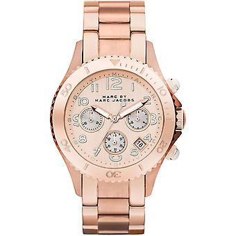Marc By Marc Jacobs Rose Gold Ladies Watch MBM3156
