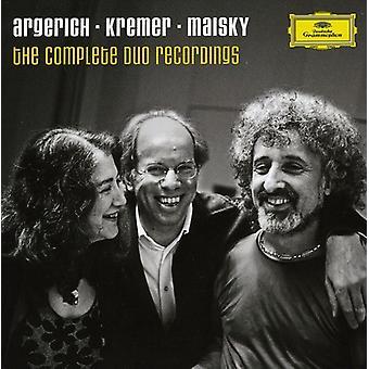 Martha Argerich - Argerich, Kremer & Maisky: The Complete Duo Recordings [CD] USA import