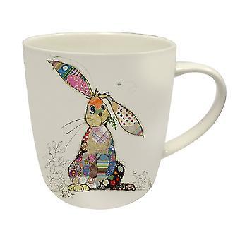 Bug Art Binky Bunny China Mug