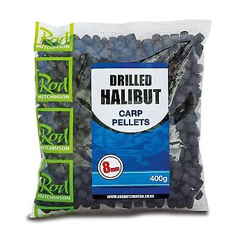 R Hutchinson Drilled Halibut Carp Pellets 8Mm Natural