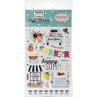 Carta Bella Zomermarkt Puffy Stickers
