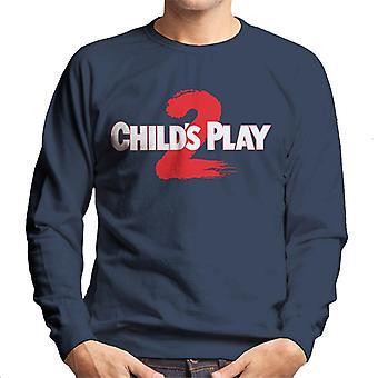 Chucky Childs Play 2 logo män ' s tröja