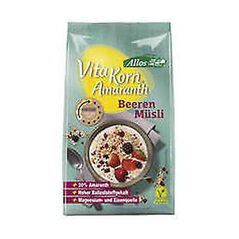 Amaranth Muesli and Red Fruits Bio 375 g