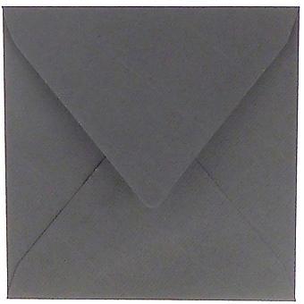 Papicolor Tummanharmaa 14x14cm kirjekuoret