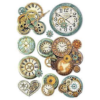 ورقة الأرز A4 gearwheels &; الساعة (DFSA4242)