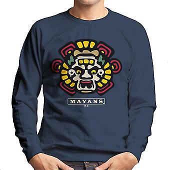 Mayans M.C. Motorcycle Club Face Colour Logo Emblem Men's Sweatshirt