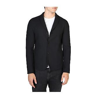 Emporio Armani -BRANDS - Clothing - Classic Jacket - V1G780V1203_999 - Men - Schwartz - 50