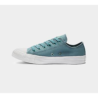 Converse Ctas Ox 163285C Teal Womens Shoes Boots