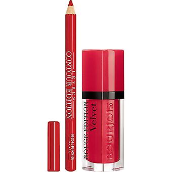 Bourjois Paris Rouge Edition Liquid Lipstick 17 + 1 Piece