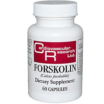 Cardiovascular Research, Forskolin, 60 Capsules